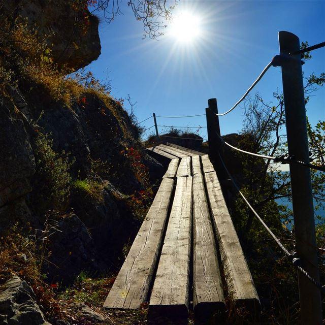 naturephotography naturelover sun sunrays path historical cliff ...