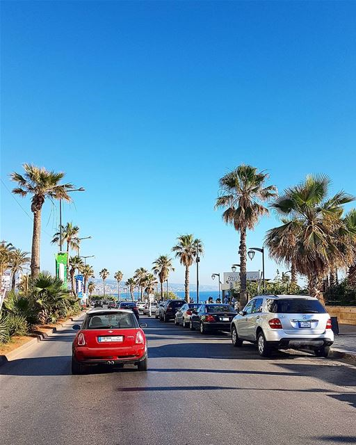 ... a drive along Beirut coast (Raouche).------.. Lebanon_HDR Ливан Б (Beirut, Lebanon)