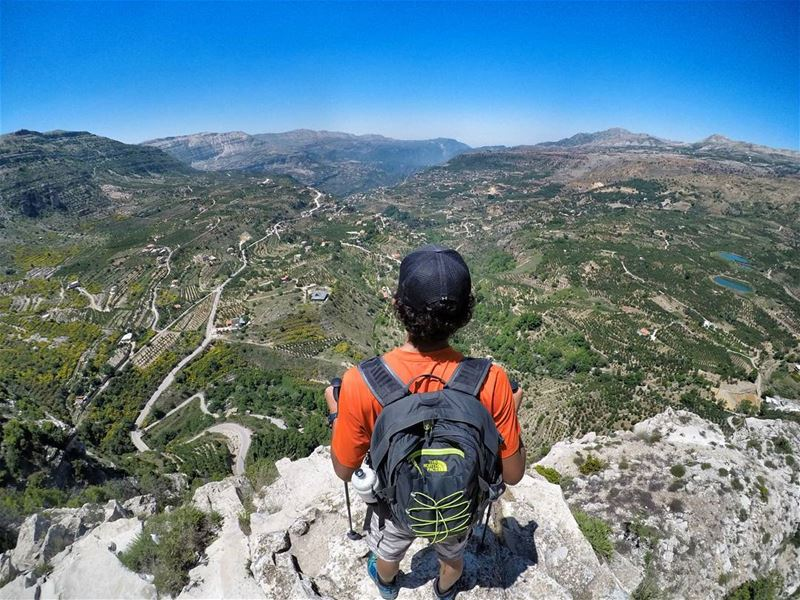 Spend zero percent of your energy on the things that don't matter. 🗻 ... (Akoura, Mont-Liban, Lebanon)