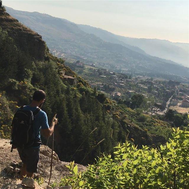 Hometown glory 😎 hiking hikingadventures hammana lebanon ... (شاغور حمانا)