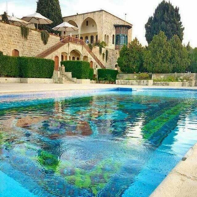 قصر الامير أمين بيت الدين @kaisswael onlyfiliban miraminpalace chouf ... (Mir Amin Palace Hotel)