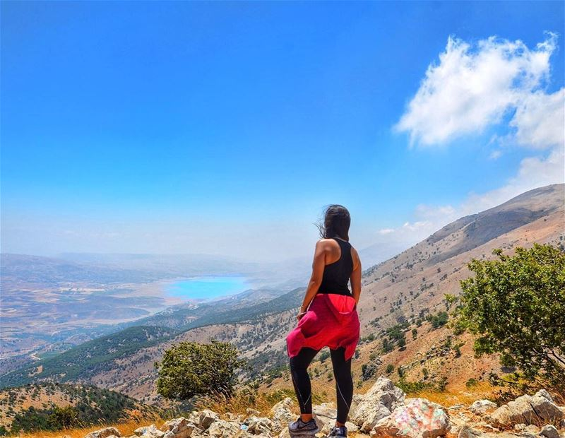 The view is better from here 🦅 (Chouf)