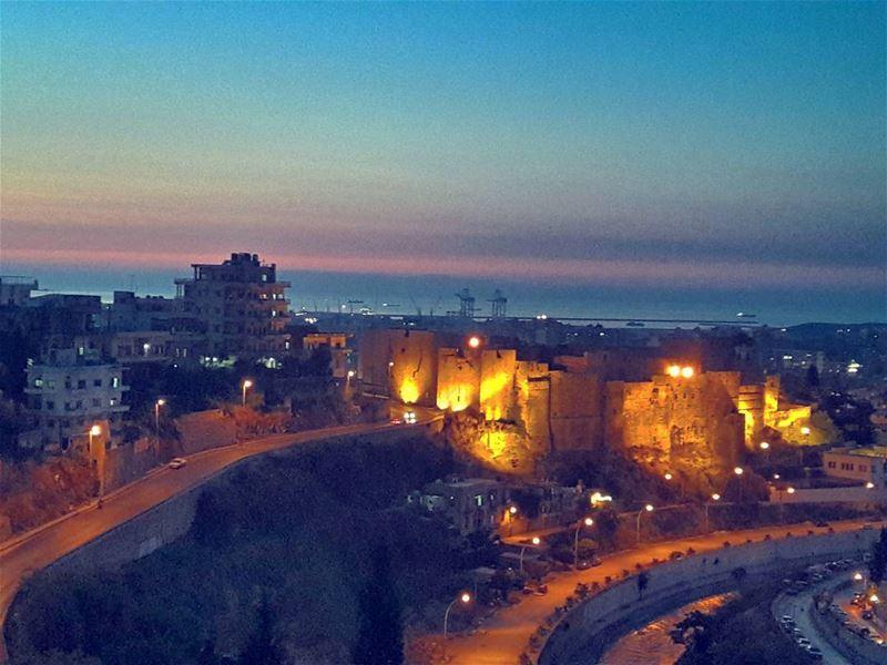 🌅 Sunset Tripoli Happy TripoliLB ILoveTripoli Sky LiveLoveTripoli... (Tripoli Abu Samrah)