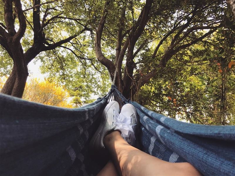What Sundays are made for! wheremyshoeslead. Hammock UnderTheTree ...