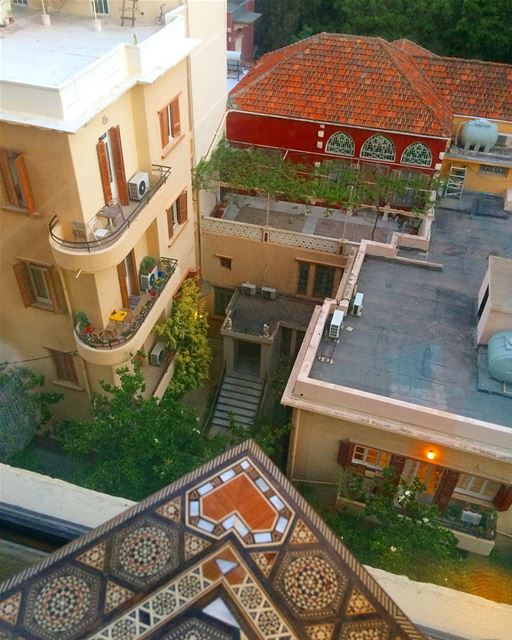Good morning! ☺️ beirut lebanon clemanceau old house new tawle ...