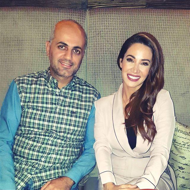With the princessa @dianahaddadofficial. star princessa diannahaddad... (City Walk Dubai)
