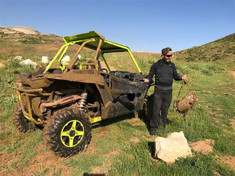 Muddy Monday ! @ziadhajj polarislebanon rzr atv adventure ...