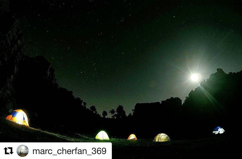 Repost @marc_cherfan_369 (@get_repost)・・・ Camping With The  Pros ⛺...