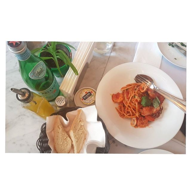 Nothing beats pasta 🍝🇮🇹--- Pasta Prune Lebanon marmikhael lunch... (PRUNE French Bistro - Lebanon)