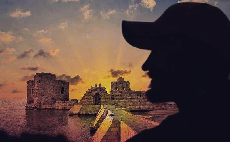 lebanon proudlylebanese livelovelebanon livelovebeirut lebanon ... (Sidon Sea Castle)