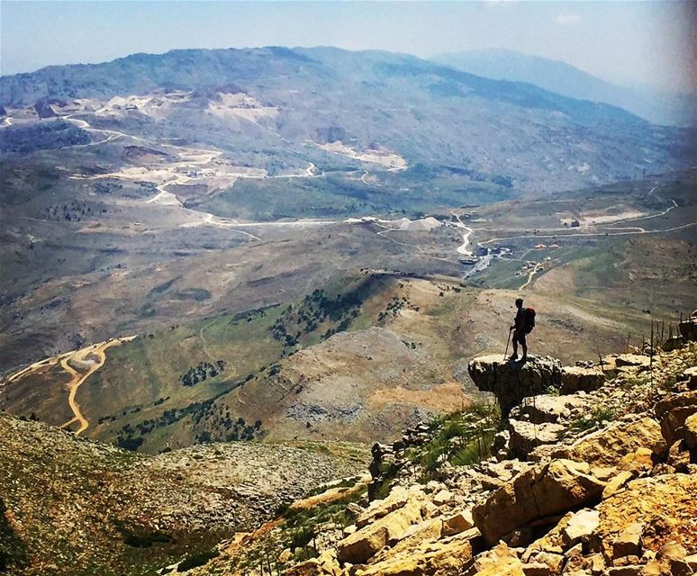 The World 🌎 and everything in it.... (Jabal L Knaysse)