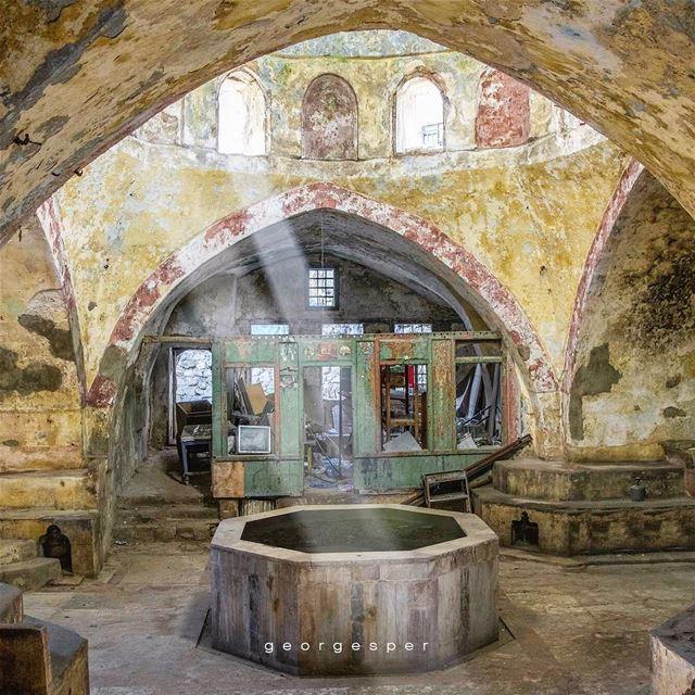 "The abandoned Turkish Bath ""Hammam El Nouri"" in Tripoli, Lebanon 🇱🇧..... (Tripoli, Lebanon)"