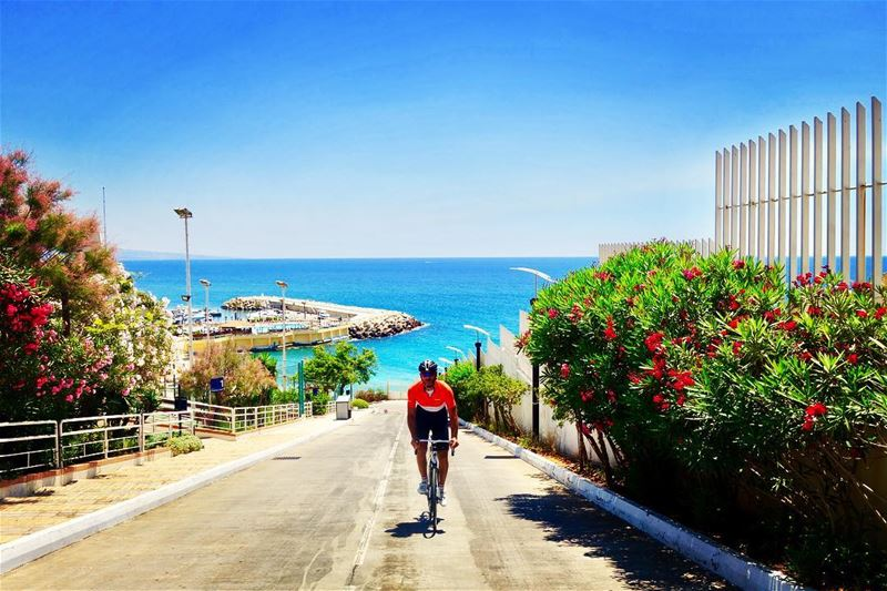 Nothing compares to the simple pleasure of riding a bike   beirut  lebanon...
