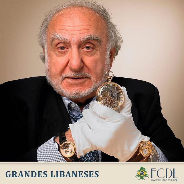 🇱🇧🇨🇭 Nicolas George Hayek foi um empresário suíço nascido no Líbano,...