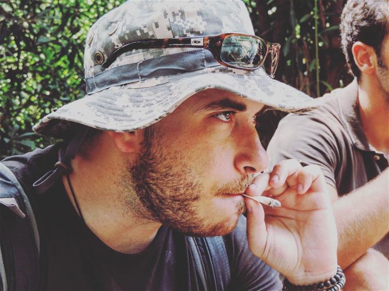 Arabian tobacco 🤷🏼♂️ lebanon lebanon_hdr akoura gopro ... (Zebquine South Lebanon)