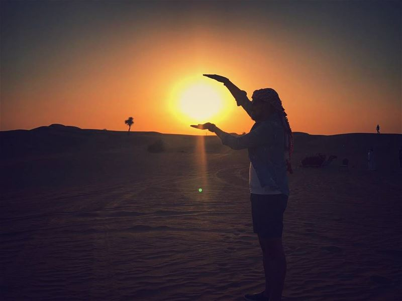 Always look on the bright side of life ; because life isn't perfect . But... (Dubai Desert Safari Tours)