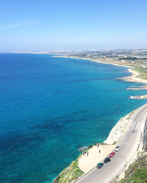 Aquela paisagem impossível de ser despercebida 🇱🇧 That landscape that is... (الناقورة / Al Naqoura)