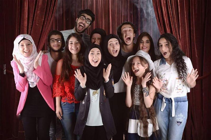 مسرح الهرمل مع احلى شبابتصوير @Kansohaidar hermel hermel_city youth ...