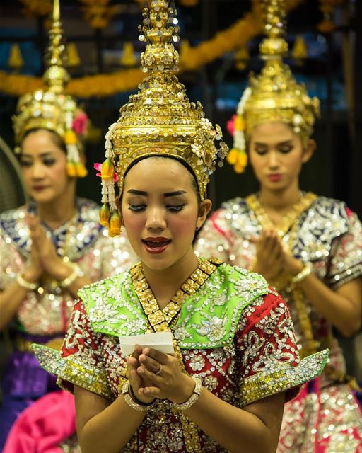 The Erawan Shrine Ceremony shot in  thailand  bangkok  budhist  dancing ...