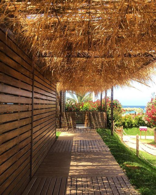 Summer days ☀️🏖 a7labaladbil3alam photo love photograph photography ... (Damour Beach Resort)