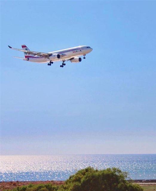 Amazing view from beirut❤️ Photo by @buddcorp Share the beauty of ... (Beirut–Rafic Hariri International Airport)