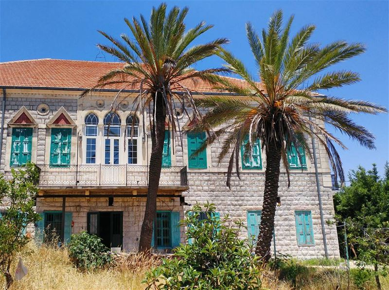 This could be my summer escape 🌴... (Marjayoûn, Al Janub, Lebanon)