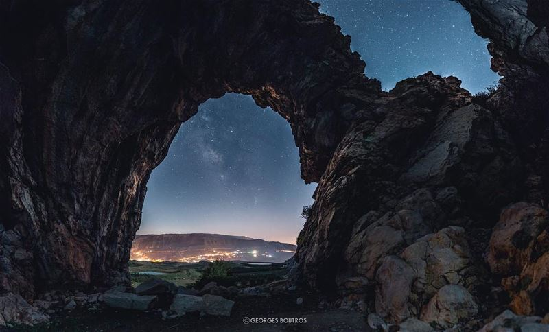 Beautifully terrifying, just like you ✨ .. landscape nightphotography ... (El Laklouk, Mont-Liban, Lebanon)