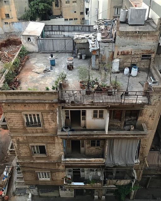 Politicians, old buildings and prostitutes become respectable with age ... (Beirut, Lebanon)