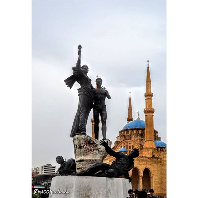 Martyrs' square Beirut!..... travel  beirut  discover  amazing ... (Martyrs' Square, Beirut)