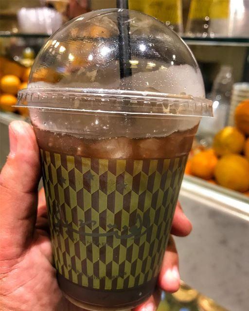 Nothing beats an ice cold Tamarind juice from @al_antabli right after... (Al Antabli Beirut Souks)