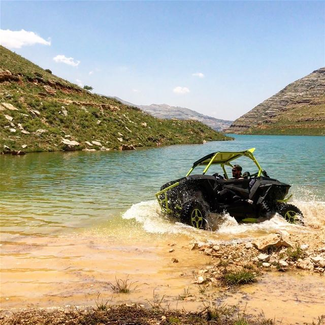 Who's in for Swimming today ? polarislebanon  rzr  atv  adventure ...