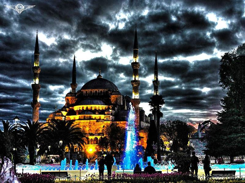 Sultan Ahmed Mosque PHOTOARENA Fatalaframes MoodyGrams landscape ... (Istanbul, Turkey)