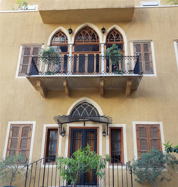 Symmetry has its own Charm heritage livelovebeirut ❤✔... (Achrafieh, Lebanon)