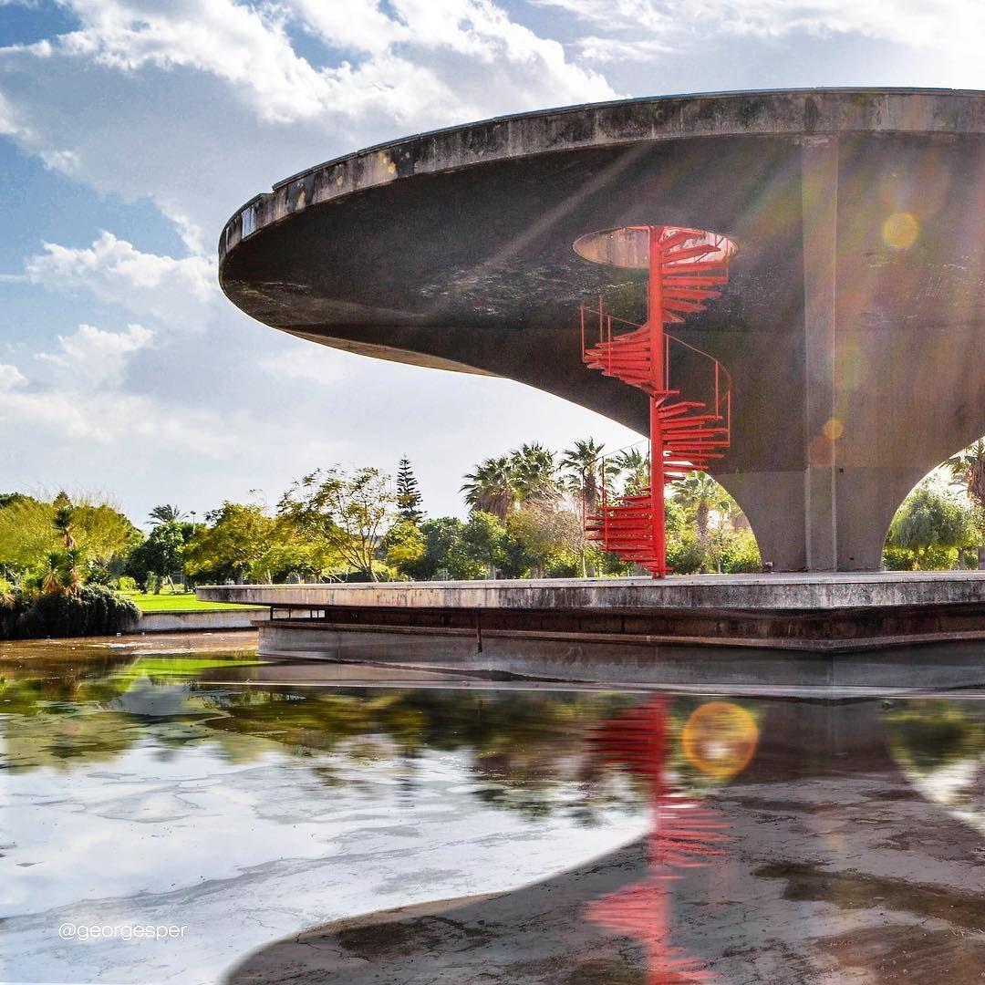 A tribute to Niemeyer 🇱🇧🇧🇷..... proudlylebanese ... (Tripoli, Lebanon)