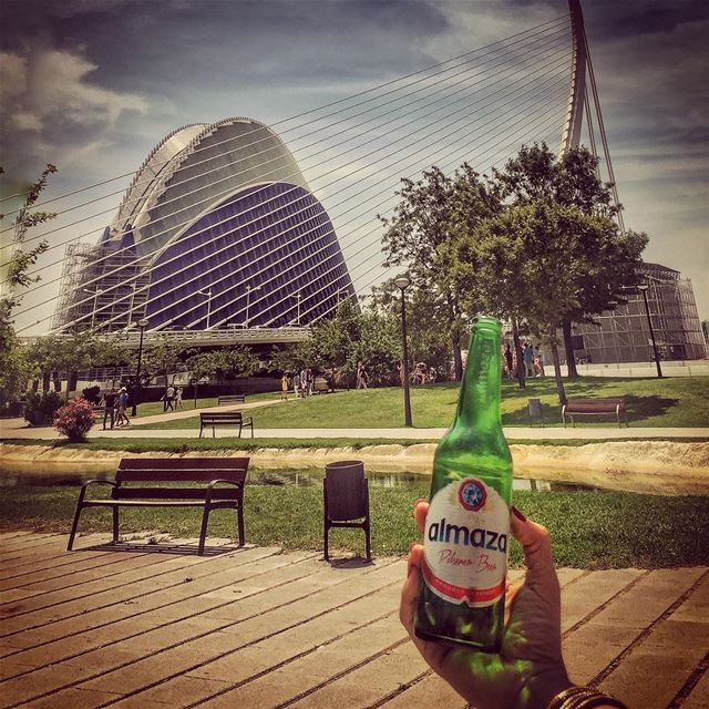 I know what you did this summer Almaza! 🍺🇪🇸 lebanesebeer --------------- (Oceanogràfic Valencia)