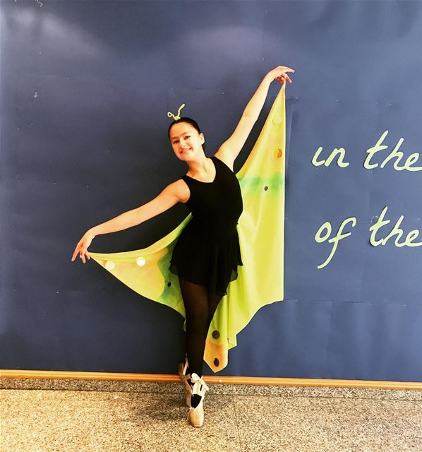 My Butterfly at the concert 🦋 myballerina balletconcert balletlover ... (College Sagesse Brasilia)