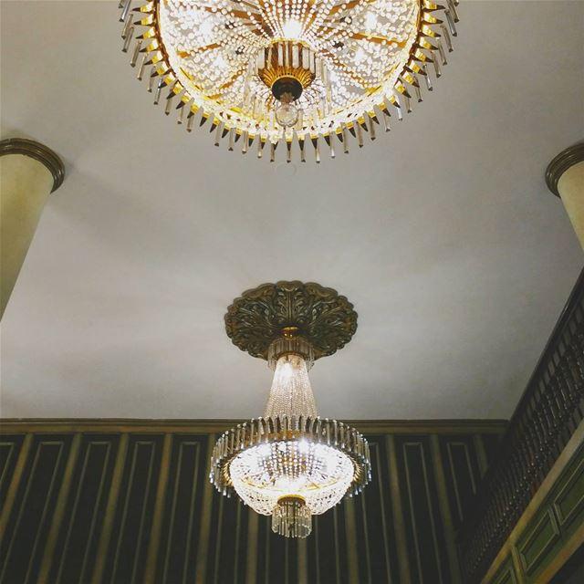 Hanged Chandeliers. lebanon chtaura bekaa hotel chandeliers vintage ... (Chtaura Park Hotel *****)