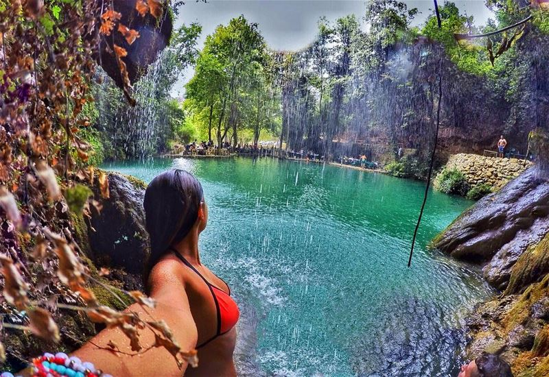💦🍁🍃💦🍂🌿 gopro waterfalls explore discover lebanon baakline ... (Lebanon)