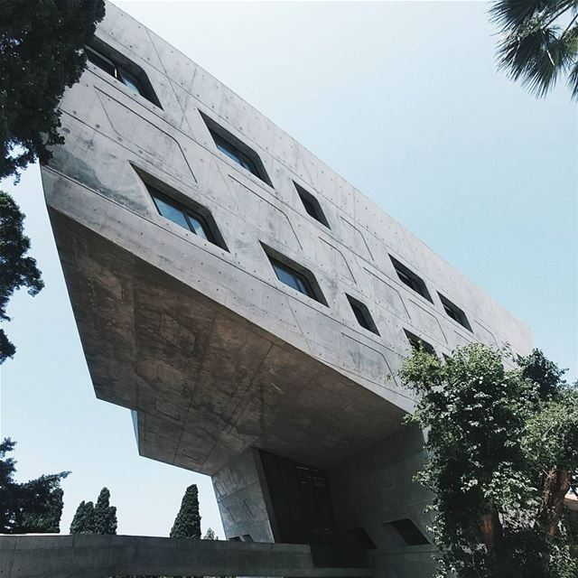 """Architecture should be able to excite you, to calm you, to make you... (American University of Beirut (AUB))"