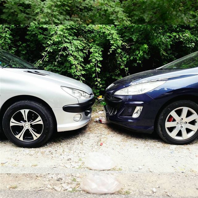 Face to face for some love love french hobby cars lebanon roadsafety...