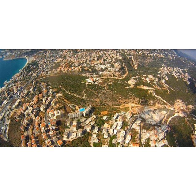 Lebanon from the sky 💙📸 lebanon lebanonfromthesky caplifephotography ... (Beirut, Lebanon)