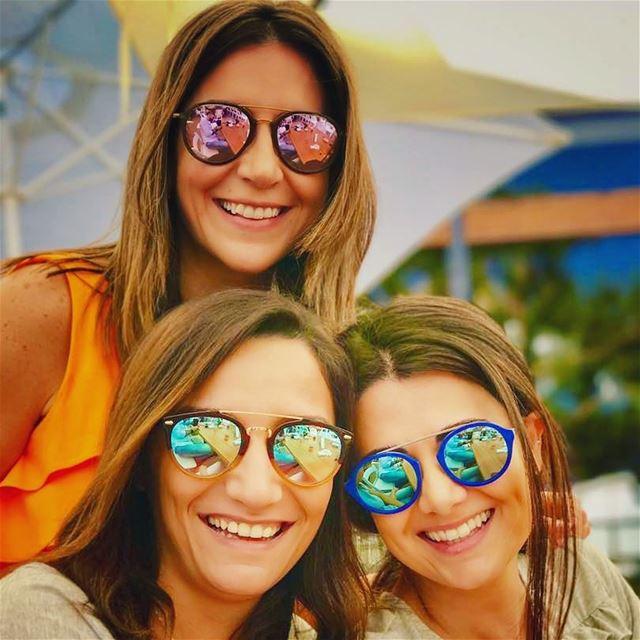 sistership mirrors 😎 sisterlove livelovekhenchara livelovelebanon ... (Ô Bois restaurant)