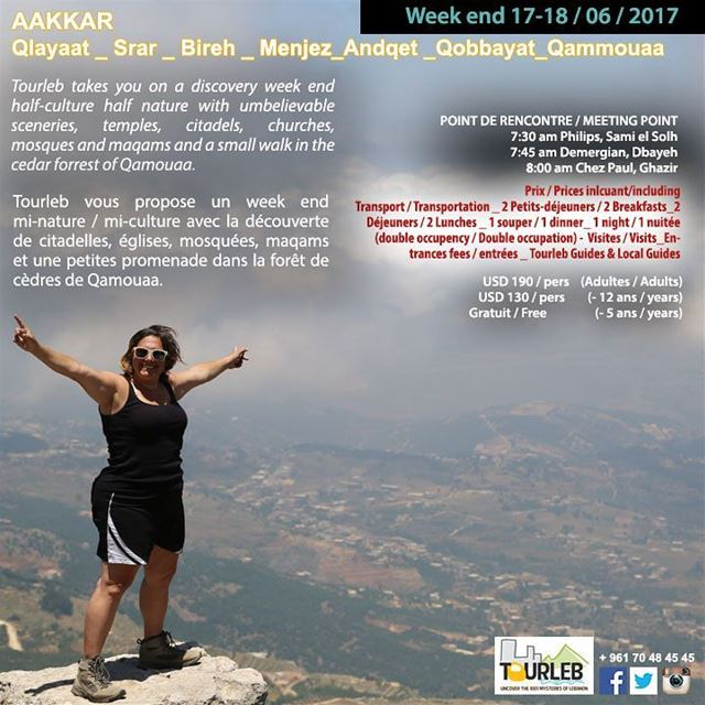 Join us this weekend for new adventures in aakkar tourlebanon tourleb ... (`Akkar, Liban-Nord, Lebanon)