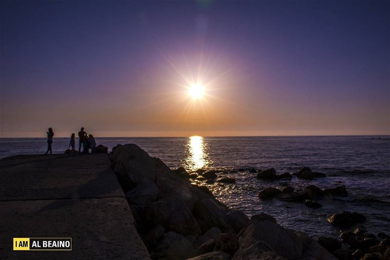 The first stab of love is like a sunset, a blaze of color -- oranges,... (Byblos - Jbeil)