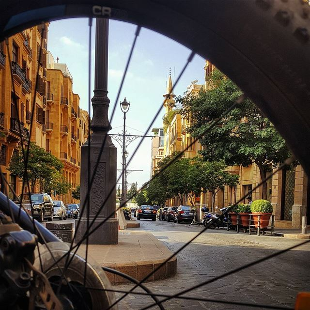 The wheel of Freedom.. In my city.. 💛 beirut  lebanon ............ (Downtown Beirut)