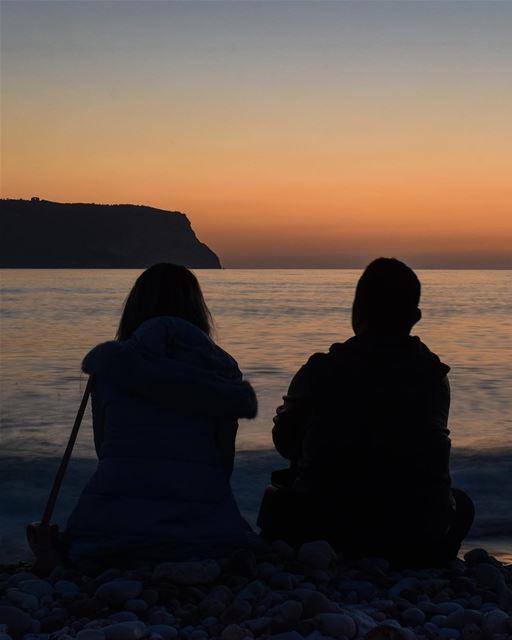 Sunset gazin'. 🌅 ... (Chekka Jdîdé, Liban-Nord, Lebanon)
