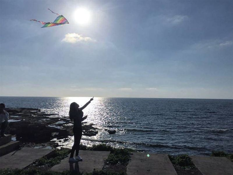 💫 Throw your dreams into space like a kite, and you do not know what it... (Tyre, Lebanon)