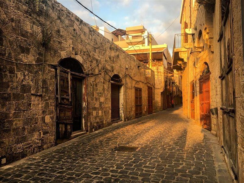 the old souks of batroun 🇱🇧 lebanon lebanon_hdr batroun church ... (Batroun Souks)