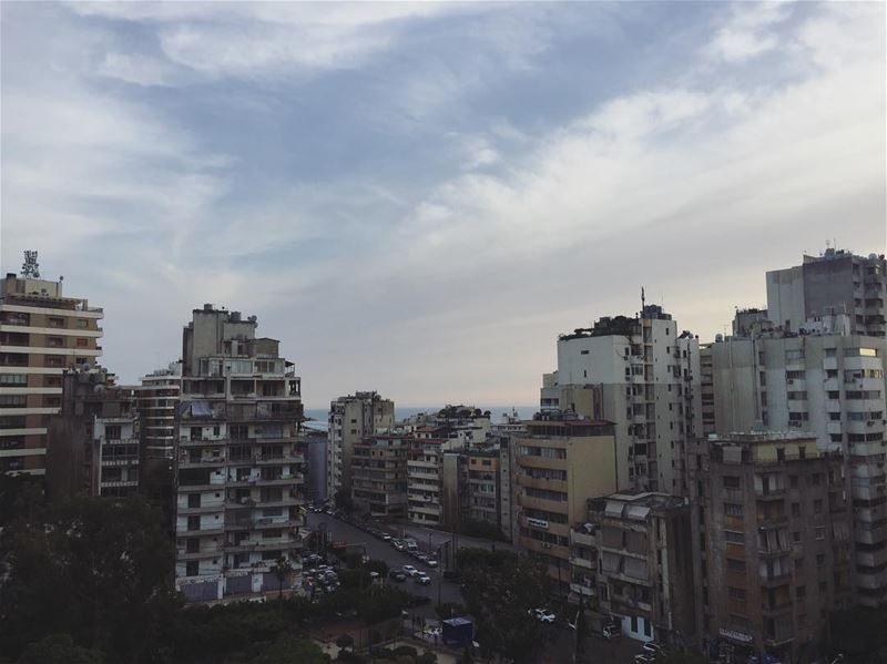 The underrated concrete jungle.🏙 (Beirut, Lebanon)