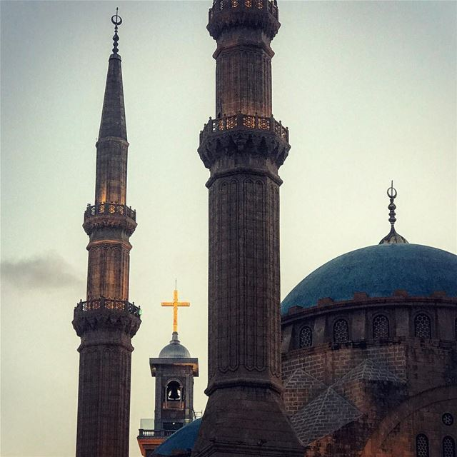 coexistance between religions has always been one of Lebanon's ...